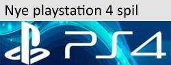 Nye playstation 4 spil