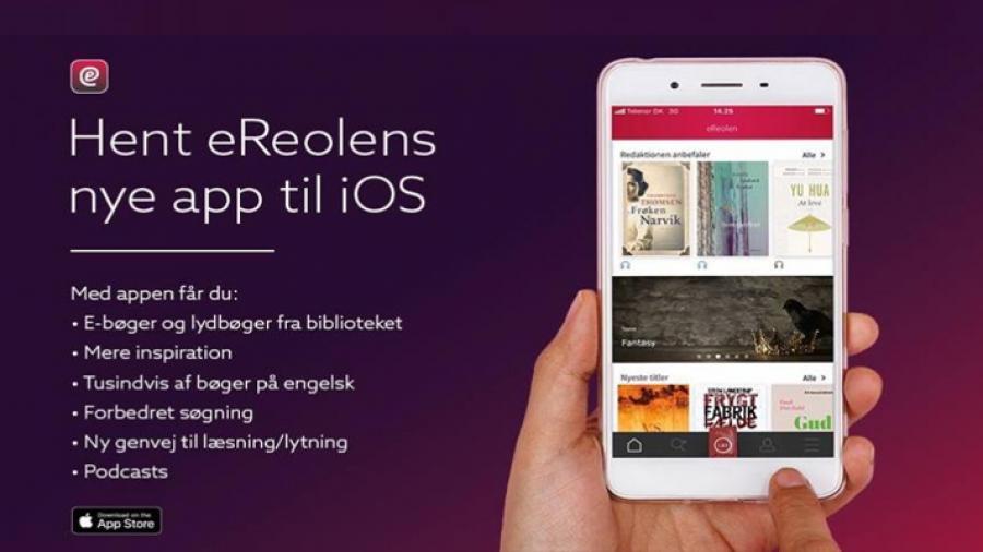 Ny app til e-Reolen