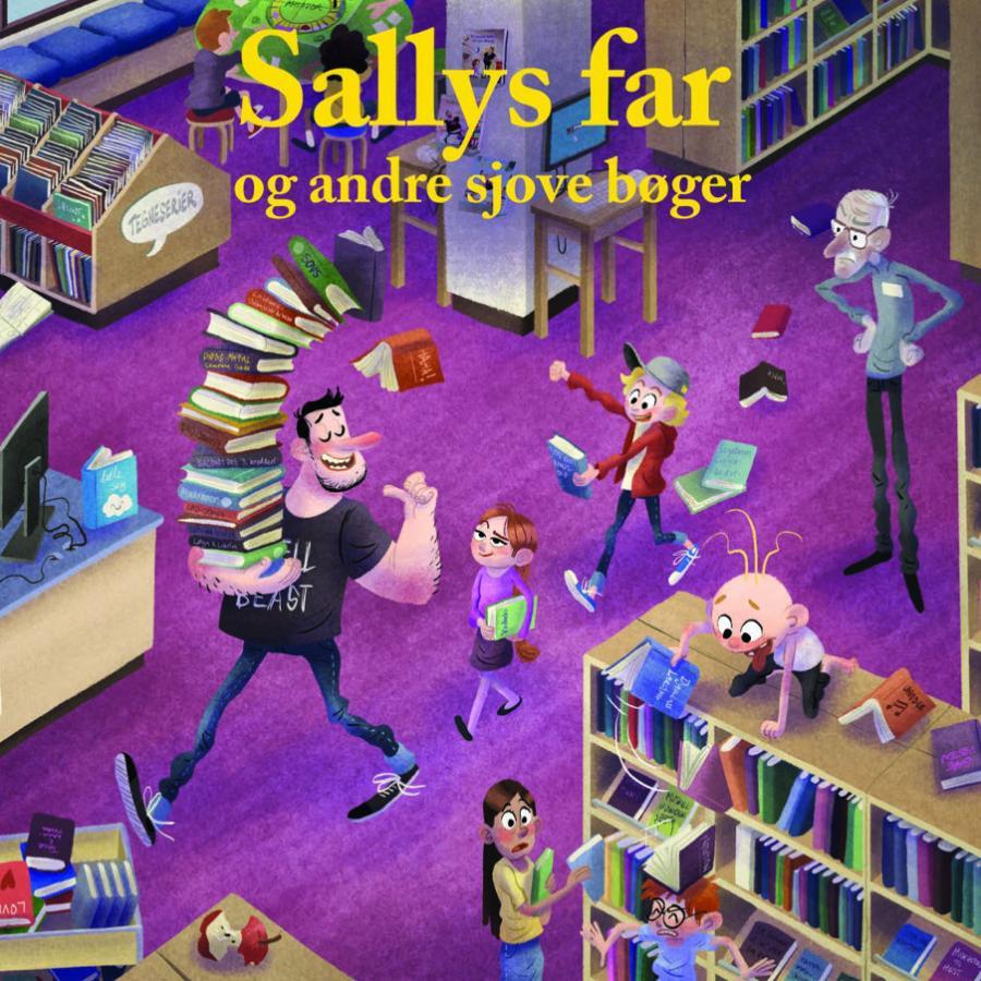 20 sjove børnebøger i stil med Sallys far