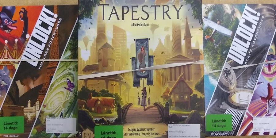 brætspillene tapestry og unlock